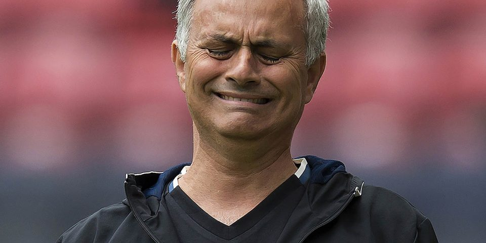 Mourinho not care top four