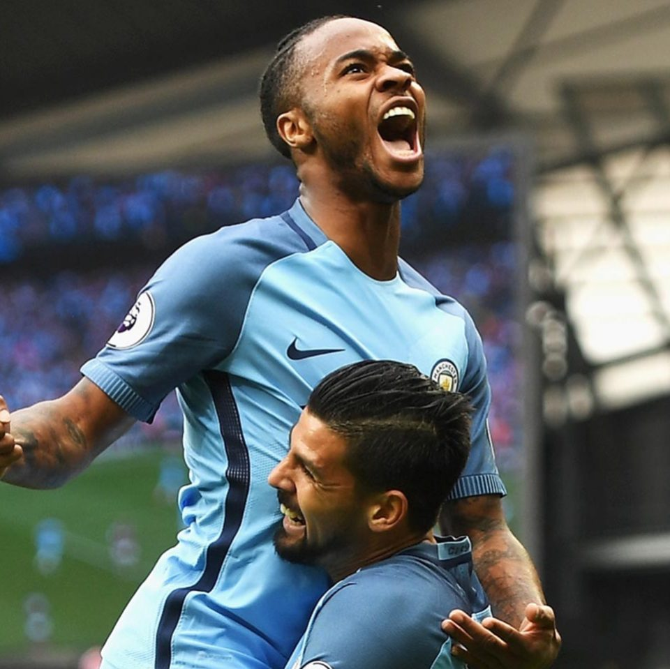 Raheem Shaquille Sterling Happy